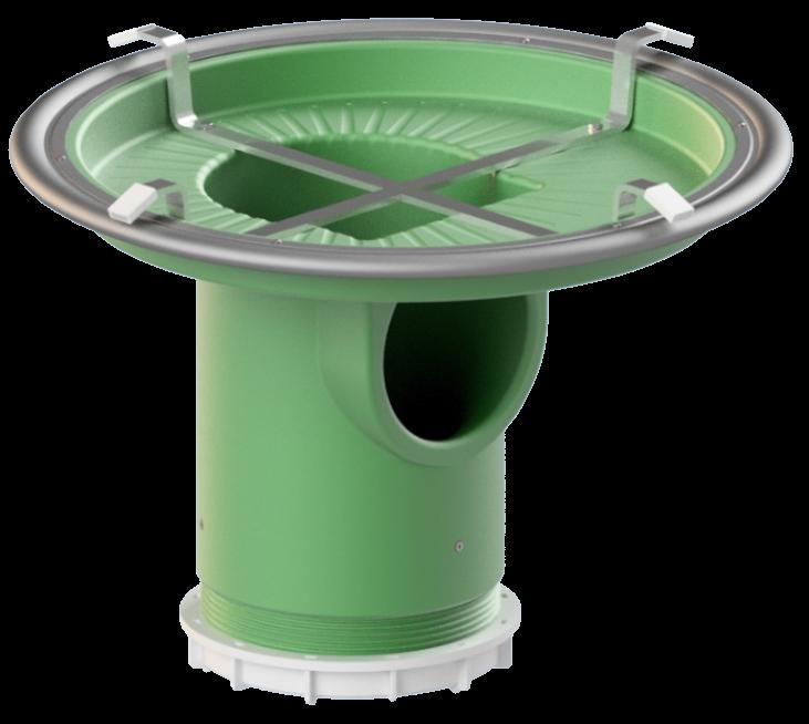 Fremdwasserverschluss-System Uni-FreWa DN625