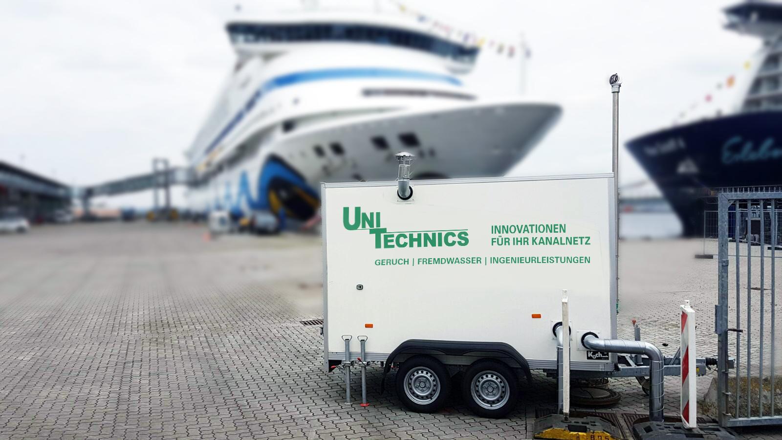 Uni-Testmobil für Pumpwerke, Kanalsysteme und Kläranlagen