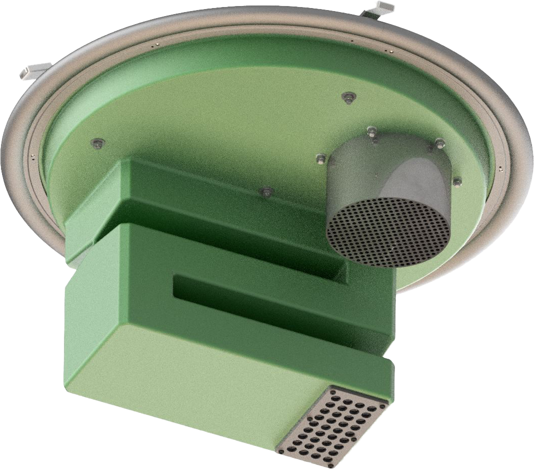Geruchsdämpfungs-System Uni-AdSorber-Aktiv