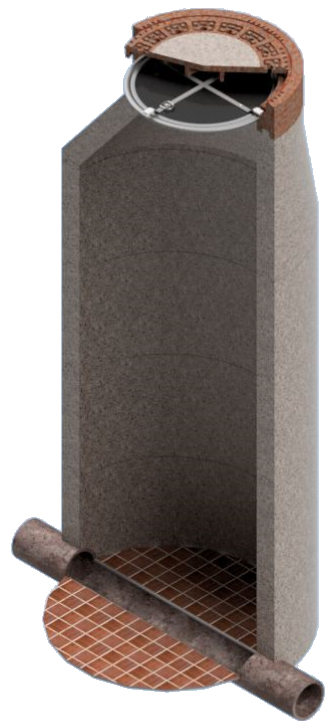 Havarieverschluss-System FRV DN625