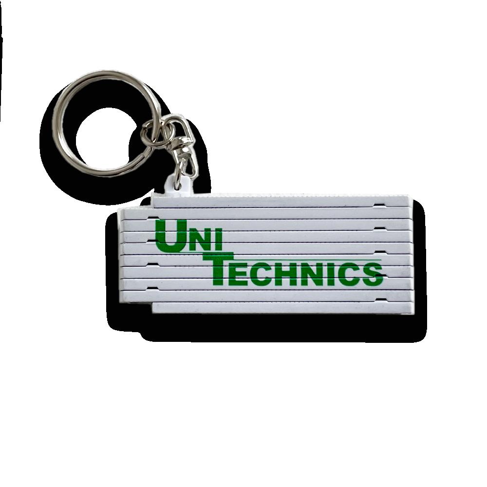 UNITECHNICS Mini- Zollstock Schlüsselanhänger