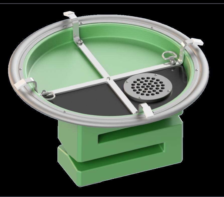 Geruchsdämpfungs-System Uni-AdSorber DN625