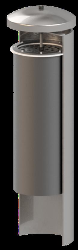 Geruchsdämpfungspatrone GDP DN100 - DN300