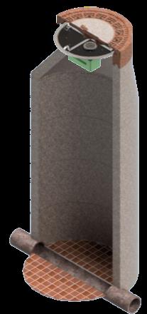 Geruchsdämpfungs-System Uni-AdSorber DN800
