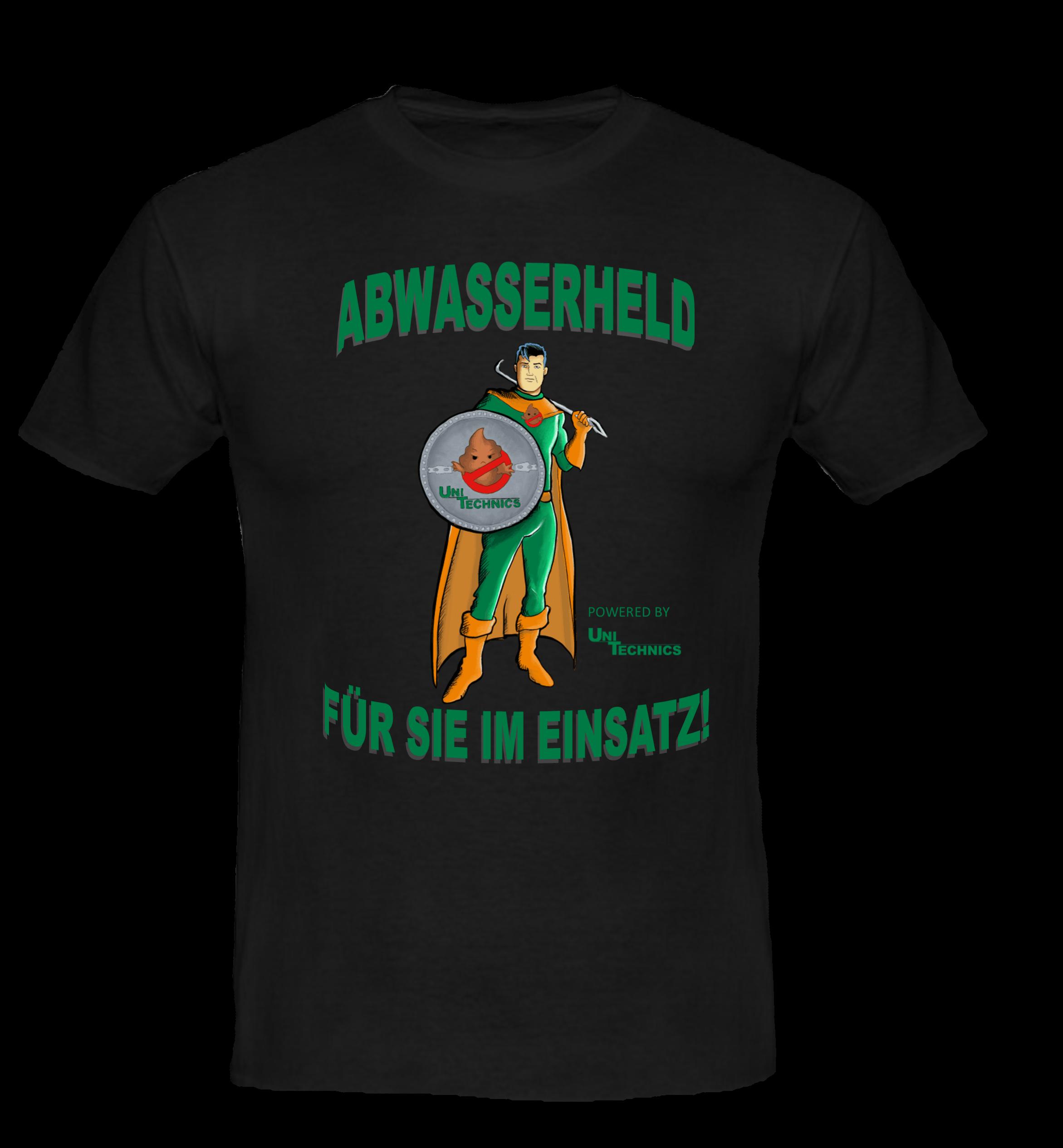 UNITECHNICS Arbeits-T-Shirt AWH - schwarz