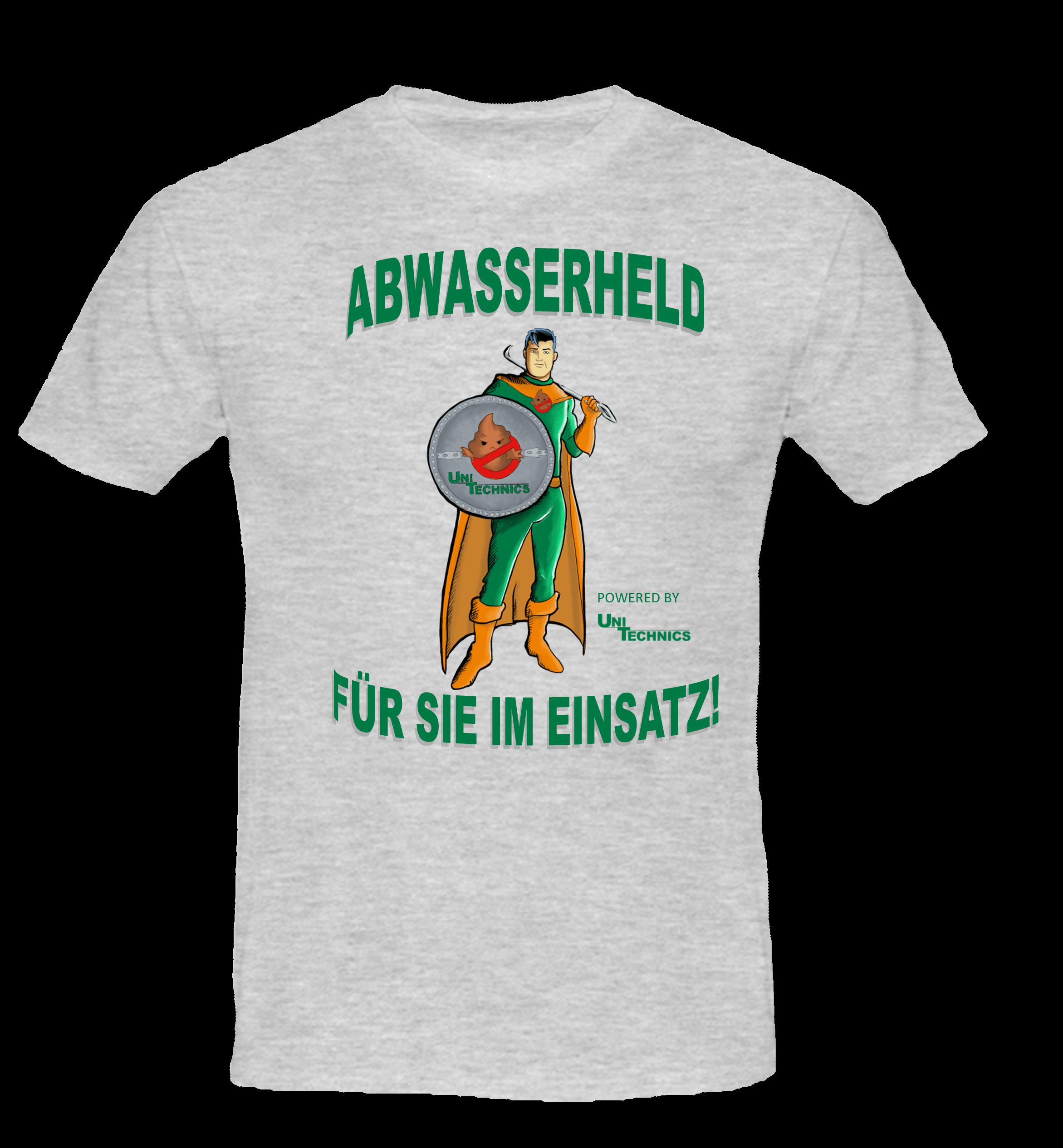 UNITECHNICS Arbeits-T-Shirt AWH - grau