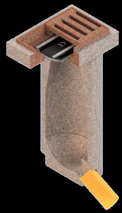Havarieverschluss für Straßenabläufe HVS-E