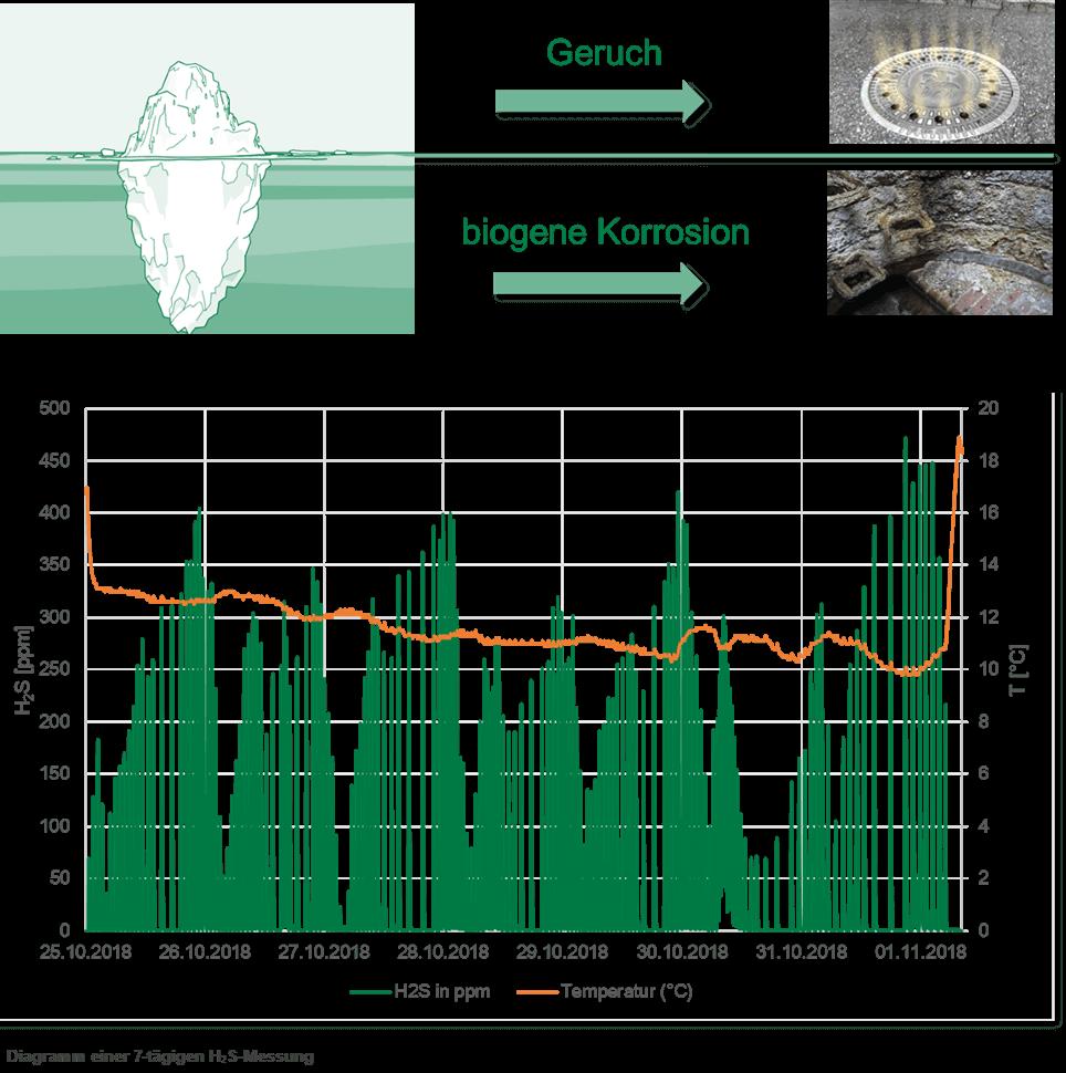 Schwefelwasserstoff-Messung