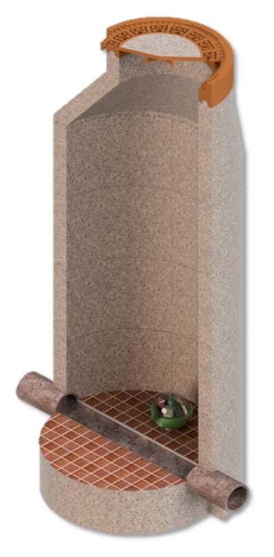 Rattenkugel mit Sensorik gegen Schadnager