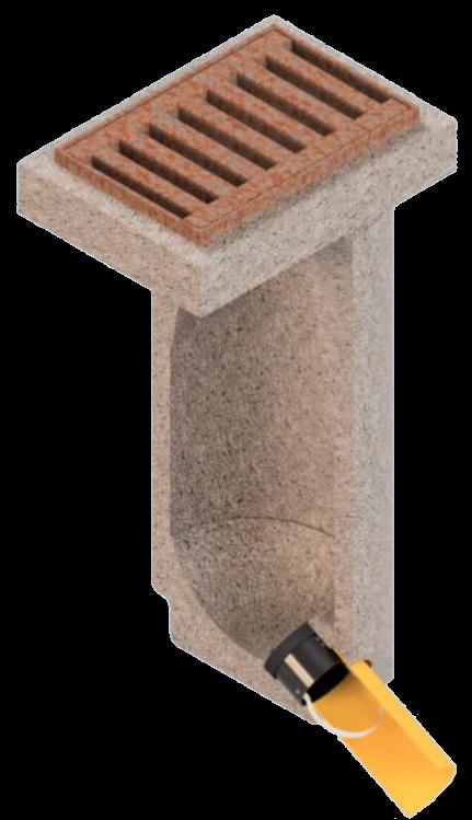 Geruchsverschluss-System GVS-K3 DN150