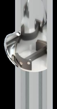 Geruchsverschluss-System  für Regenfallrohre GVF-100 DN 100