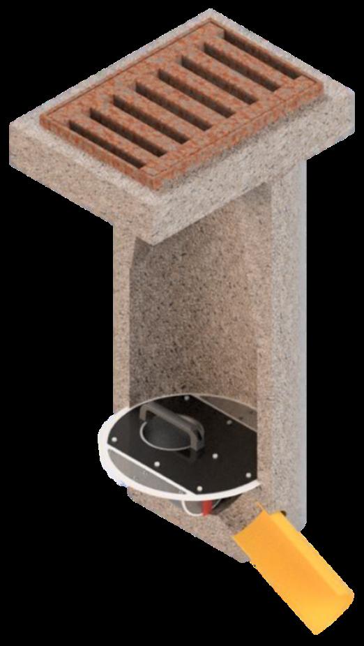 Geruchsverschluss-System GVS-450-150 DN450
